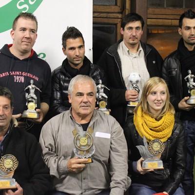 Remise des trophées 2012