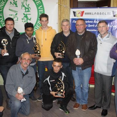 Remise des trophées 2013